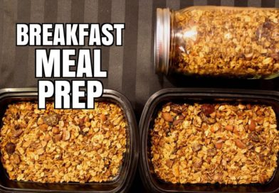 How To Meal Prep – Ep. 6 – BREAKFAST – GRANOLA