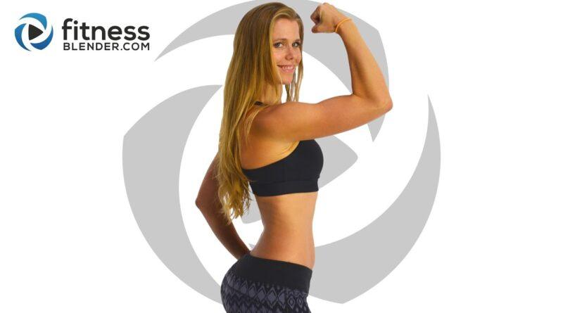 At Home Upper Body Workout for Toned Arms, Shoulder & Upper Back