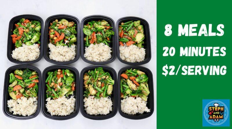 Peanut Stir Fry – Plant-Based Vegan Meal Prep