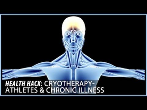 Cryotherapy   Athletes & Chronic Illness: Health Hacks- Thomas DeLauer