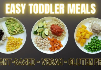 Easy Vegan Toddler Meals – Plant-Based and Gluten Free!
