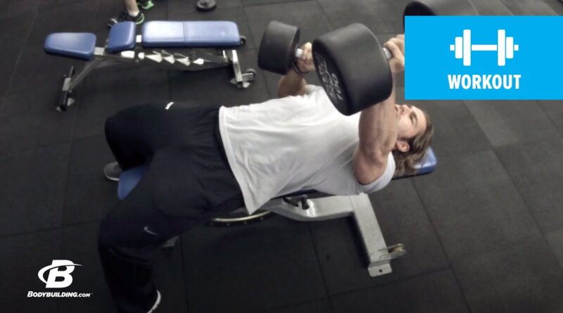 Fast-Paced Chest Workout | 30 Days Out | Day 1