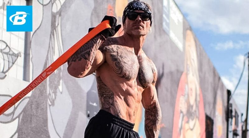 3 Things You Need To Know About Building Muscle w/ Resistance Bands | James Grage