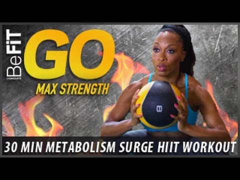 BeFiT GO | Metabolic Surge -30 Minute Fat Burning Workout: Max Strength