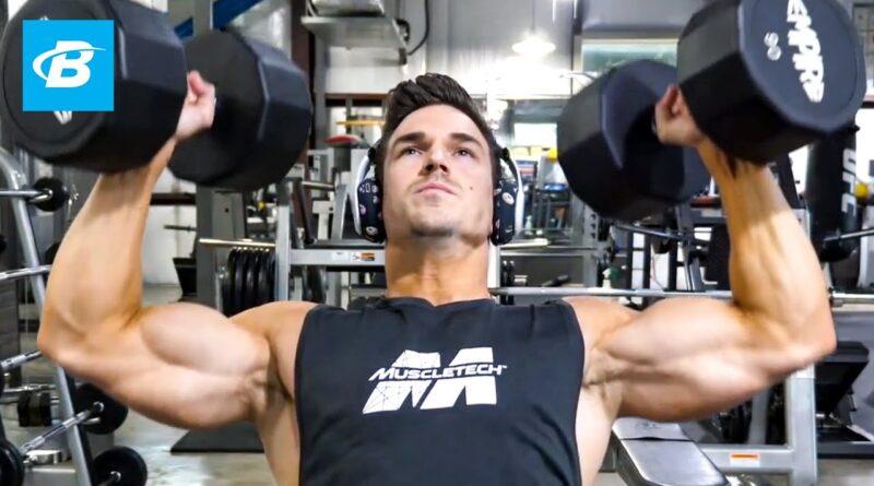 Delt Smashing Shoulder Workout | Abel Albonetti