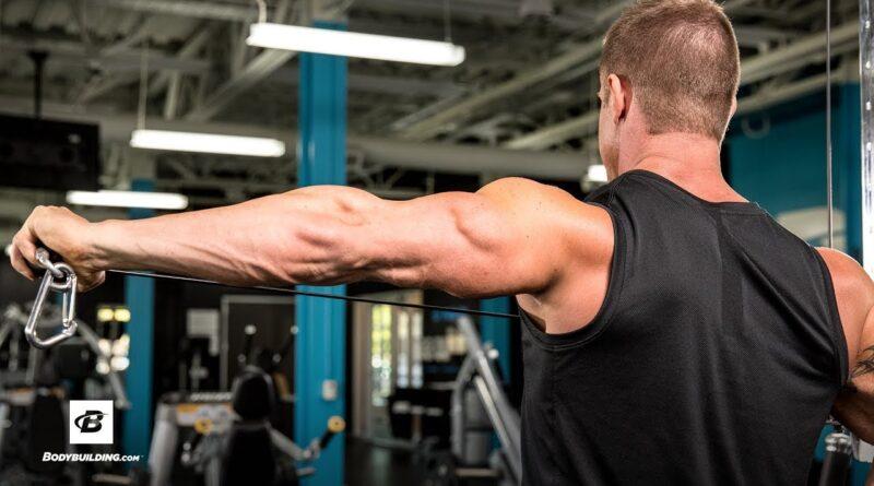 High-Volume Triceps-Builder | IFBB Physique Pro Brandan Fokken